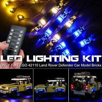 LED KIT per costruzioni LEGO 42110 Technic Land Rover Defender Auto Modellismo
