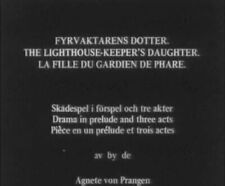 DVD Fyrvaktarens dotter (Georg af Klercker, 1918) Carl Barcklind,Carl Barcklind