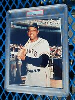 Willie Mays Authentic Autographed 8x10 Photo PSA Authentic Slabbed