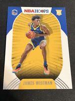 JAMES WISEMAN RC 2020-21 Panini NBA Hoops Rookie # 205 First Rookie Warriors