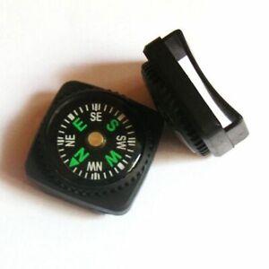 Mini Kompass EDC Camping Wandern Navigation Trekking Kompaß Anhänger Outdoor