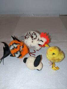 Vintage Steiff  Mini Animals Set of 4