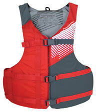 """Stohlquist CROSSFIT Life Vest PFD. Adult XL 48-60"""" chest, weighs 1 lb - RED"""