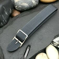 16mm Gray Stiff Perlon Military A-11 ORD nos Vintage Watch Band