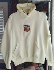 vintage ralph lauren polo kswiss sweatshirt hooded hoodie snow beach stadium 92