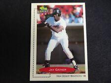 1991 Classic Best # 230 - Jay Gainer - High Desert Mavericks - 1B