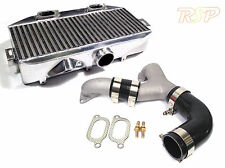 Impreza WRX STi 2002-2006 Very Large Top Mount Intercooler TMIC & Y-Pipe BLK HS