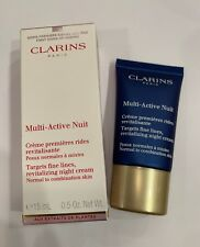 Clarins Paris Multi Active Nuit Revitalizing Night Cream Moisturizer NIB