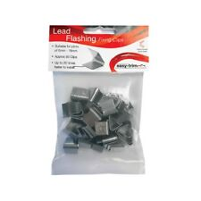 Lead Flashing Fixing Clip Hall Clips Easy Flash Fix Repair For Roof BAG OF 50