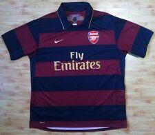 4.9/5 ARSENAL LONDON 2007~2008 ORIGINAL FOOTBAL SHIRT JERSEY ORIGINAL NIKE THIRD