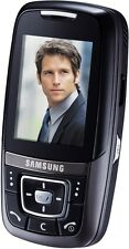 Samsung SGH D600 Black (Ohne Simlock) MP3 CAMARA 4BAND BLUETOOTH MINI HANDY