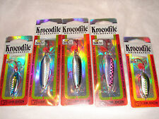 20 LUHR JENSEN KROCODILE VMC SURESET LURES LOT BASS,STRIPER,TROUT,WALLEYE SPOON