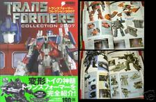 Transformers Collection 2007 Figure Book