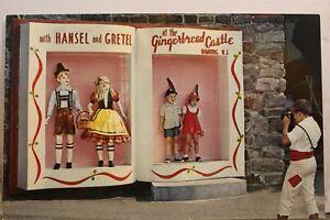 New Jersey NJ Hamburg Gingerbread Castle Hansel Gretel Postcard Old Vintage Card