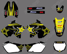 Graphics Background Graphic Decal Sticker For SUZUKI RM125 RM250 2001-2011 2012