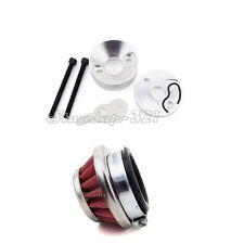 Stand Up Gas Scooter 44mm Air Filter Adapter Velocity Stack 33cc 43cc 49cc Moped