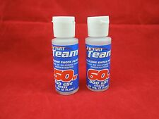 TEAM ASSOCIATED 50 + 60 WEIGHT SILICONE SHOCK OIL FLUID 5435 5436 traxxas RC10
