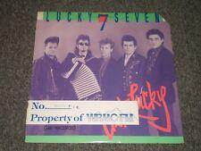 Lucky 7 Seven~Get Lucky~Ex-Radio Station Copy~1987 Rockabilly / Zydeco~FAST SHIP