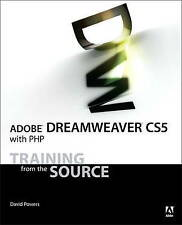 USED (GD) Adobe Dreamweaver CS5 with PHP: Training from the Source by David Powe