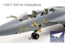 Dream Model 2014 1/48 F-14A Tomcat Detail Up Etching Parts for Hobby Boss