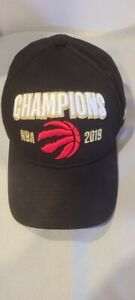 New Toronto Raptors 2019 NBA Champions  Adjustable Buckle by New Era Hat Cap