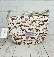 Cath Kidston Saddle Bag Mini Sketchbook Dog Oyster Shell Colour New with Tag