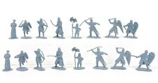 Conte Collectibles Toy Soldiers Normans Plastic Figures Set 1 54mm