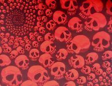 Infinity Spiral Skull Bandana Day of the Dead Headband Dog Chemo Alexander Henry