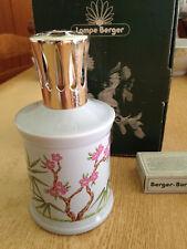 LAMPE BERGER - PORCELAINE de Limoges GIRAUD