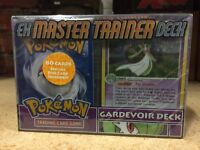 Pokemon EX Master Trainer Gardevoir Deck For Card Game