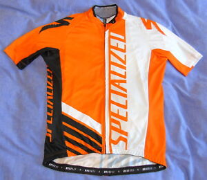 """NEAR-PERFECT CONDITION SPECIALIAZED JERSEY. LARGE 42"""" CIRCUMFERENCE"""