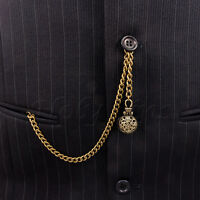 Brand New Bronze Colour Albert Pocket Watch Chain With Gift Pouch 009