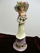 Blue Sky Clayworks Heather Goldminc Figurine Generation Lavender Lady Flowers