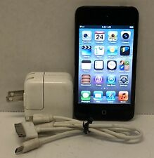 Apple iPod Touch 4th Generation - 8GB - Black MC540LL/A, A1367 Bundle Tested