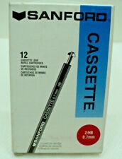 Twelve (12) Cassette Refill Cartridges x 12 Leads each 2Hb 0.7mm Cal-7 Berol Nos