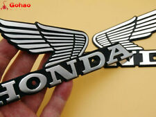 L/R Oil Tank Badges Emblems for Honda Nighthawk Wing CG125 CL100 CB100/200/125S