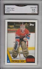 GMA 10 Gem Mint PATRICK ROY 1987/88 Topps #163 2nd Year Card RARE HABS!