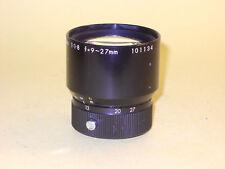 Olympus Zoom Lens 1.8/9-27mm - Addon movie camera lens for Pen 8 EE