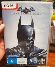 Batman Arkham Origins -  PC GAME - FREE POST