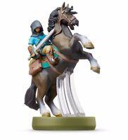 Nintendo amiibo The Legend of Zelda Breath of the Wild LINK Rider 3DS Wii NEW
