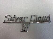 Rolls-Royce-Silver-Cloud-III-Trunk-Badge-NOS 1962 TO 1966