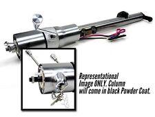 Ididit Steering Column Shift, Powder Coat Black, Tilt, C10, Truck, 73-87