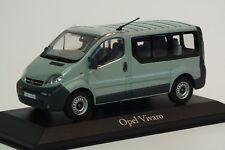 Minichamps Opel Vivaro A Familiar Camión 1:43 , Plata Verde, Coche a escala,