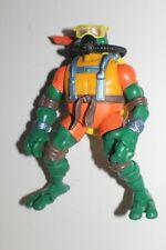 TMNT Ninja Turtles Ninja Mike Michelangelo Scuba Action Figure Playmates 2004