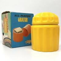 Vtg 1970s Chadwick-Miller ALL-PURPOSE GRATER Kitchen Tool Cheese Nuts NIB NOS