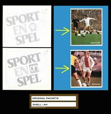 1972 JOHAN CRUYFF and Piet Keizer - 2 CLOSED Packets - THESE CARDS inside!