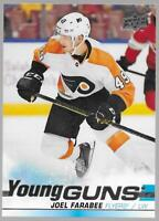 2019-20 Upper Deck Young Guns Joel Farabee Rookie # 491 NM/MT RC