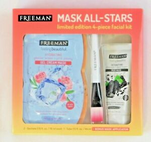 Freeman Mask-All-Stars limited edition 4 piece facial kit New