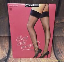 Victorias Secret Sexy Kitten Thigh Highs Black Sexy Little Things Size A