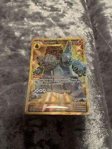 Coalossal #198/189 Pokemon Card - Gold Secret Rare - Darkness Ablaze Mint P F